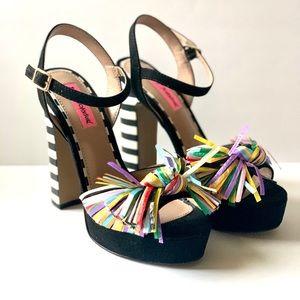 Betsey Johnson Mandy Multi-color Platform Shoes
